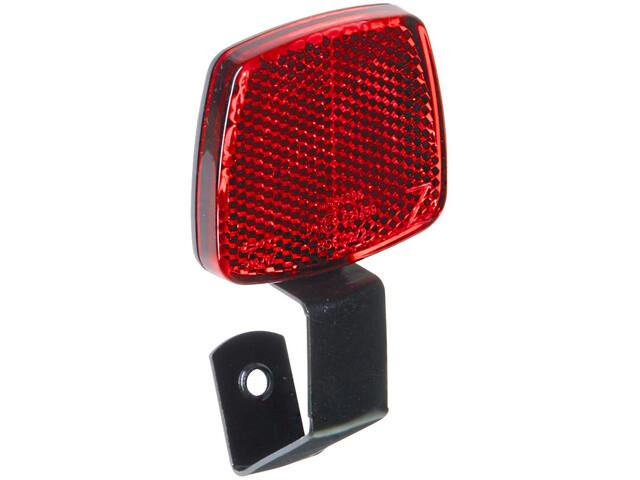 Busch + Müller reflector reflector met u-vormige metalen houder rood/zwart